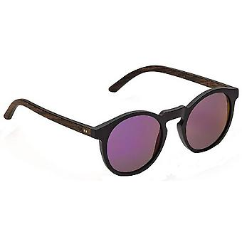 Take a Shot Nepomuk Sunglasses - Brown/Black/Purple