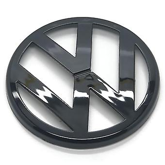 Gloss Black VW Volkswagen Golf MK4 Front Grill Bonnet Badge Emblem Grill 115mm 1998-2004
