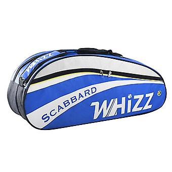 5-6 Pcs Badminton Bag, Tennis / Racquet Sports Bag For With Double Main Pocket