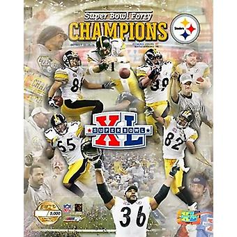 SBXL - Steelers Champions PFGOLD Sports Photo (8 x 10)