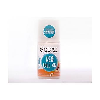 Roll'on Deodorant / Apricot & Elderflower 50 ml of gel