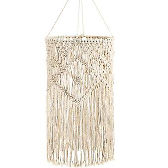 Hand-woven Living Room Ceiling Lamp Shade Bohemian