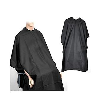 Adult Black Salon Hairdressing Cutting Colour Hair Highlight Cape Body Gown