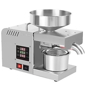 Automatic Household Flaxseed Oil Press Extractor Peanut Oil Machine