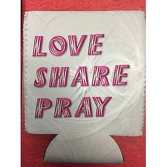 Love Share Pray Beverage Holder