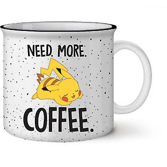 Pokemon Pikachu Need More Coffee Mug