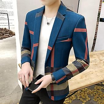 Men's Suits Winner Fashion British Style Slim Casual Blazer