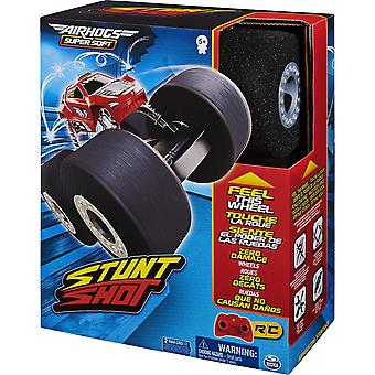 ❤SAFE AND FUN INDOOR RC: Stunt Shot's foam wheels make it different from any other RC. It drives on and over anything with ease and won't wreck walls, furniture or scratch floors. ❤MASTER AMAZING STUNTS: Stunt Shot can do flips, 360degree spins, wheelies