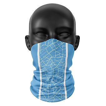 Manchester City Farben Gesicht Maske Fußball Snood Hals Schal Buff Kopfbedeckung Tube