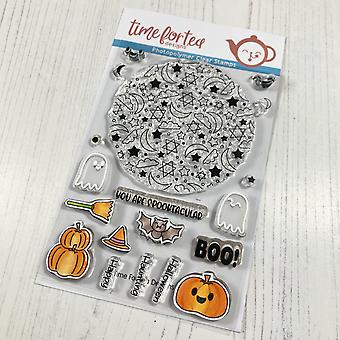 Time For Tea Spooktacular Clear Stamps