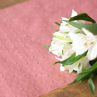 Blush Pink Table Runner 28cm x 5m - Party Table Decoration