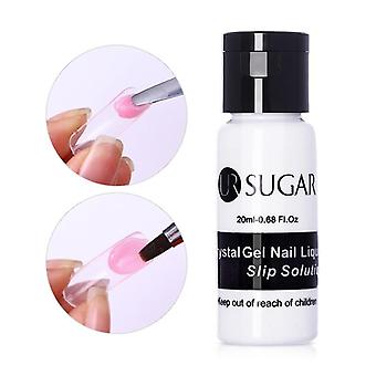 Poly Uv Gel Nail Set With Lamp Quick Building Extension Varnish Clear Pink