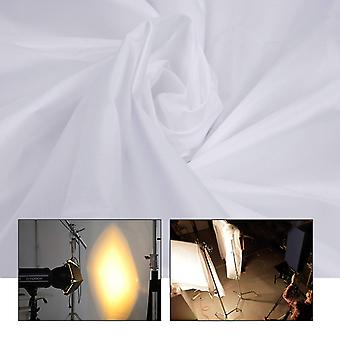 Diy diffuser 5x20ft nylon silk white seamless diffusion fabric for photography softbox, light tent a
