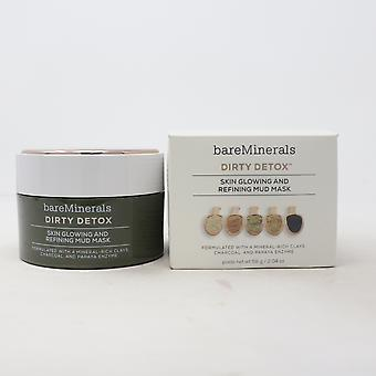 Bareminerals Dirty Detox Skin Glowing And Refining Mud Mask 2.04oz Nouveau avec boîte