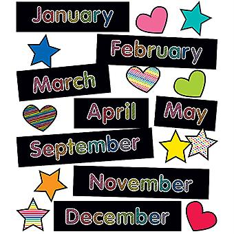 Just Teach Months Of The Year Mini Bulletin Board Set