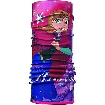 バフガールズポーラー&マイクロ屋外保護バンダナ管状スカーフ - 冷凍アンナ