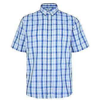 Carabou Blue & Light Blue Check Shirt