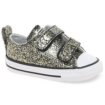 Converse Allstar 2V Mädchen Kleinkind Canvas Schuhe
