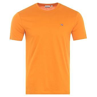 Napapijri Salis Short Sleeve T-Shirt - Marmalade
