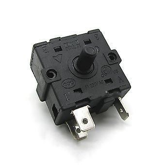 Accessoires de pièces de réparation de radiateur électrique Rot Switch Ac Electric Heater