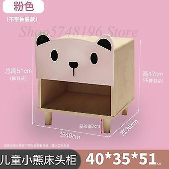 Éjjeliszekrény rajzfilm hálószoba kap tároló mini szekrény