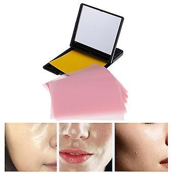 Tragbare Gesichtsabsorbierende Papieröl-Kontrolltücher