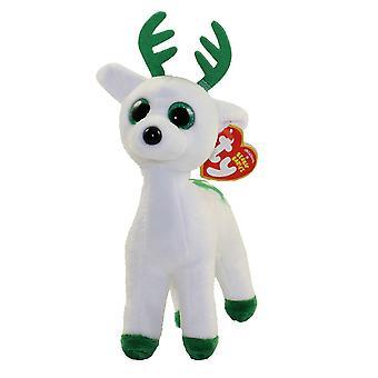 Ty bonnet de poivre bébé menthe poivrée le renne blanc vert