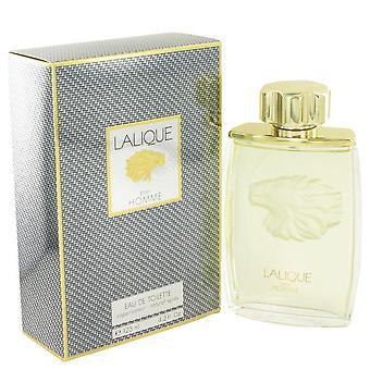 Lalique Eau De Toilette Spray By Lalique 4.2 oz Eau De Toilette Spray