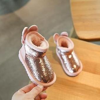 آذان بلينغ أحذية الرضع، أحذية الشتاء طرفة عين