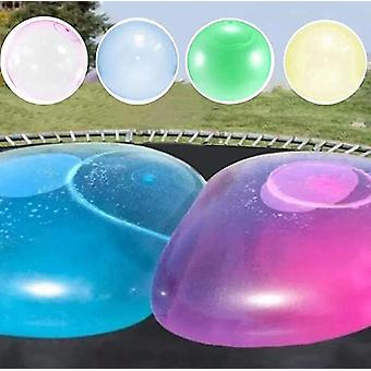 Kids Bubble Ball Toy Inflatable Water Ball Soft Rubber Ball Jelly Balloon Balls For Kids Outdoor Party