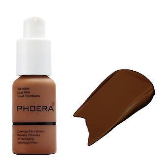 Phoera Beauty Új 30ml alapítvány puha matt, hosszú kopású olaj vezérlő folyadék