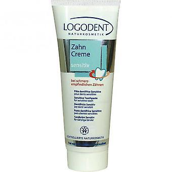 Logona tandkräm känsliga tänder utan fluor av 75 ml
