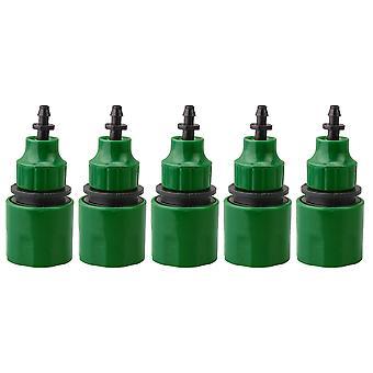 Connecteur d'adaptateur d'adaptateur d'adaptateur d'irrigation rapide de tuyau d'arrosage de 5 pcs