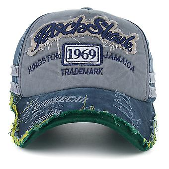Baseball Cap Washed Cotton Letters 1969 Embroidered Snapback Hat Gorra