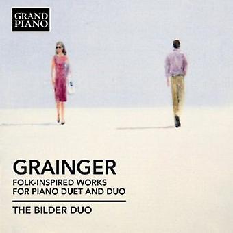 P. Grainger - Grainger: Folk-Inspired Works for Piano Duet & Duo [CD] USA import