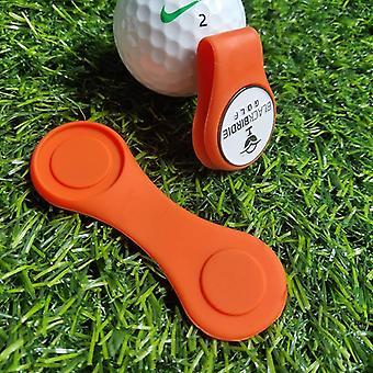 סיליקון גולף כובע קליפ כדור מרקר מחזיק עם חיבור מגנטי חזק שלך