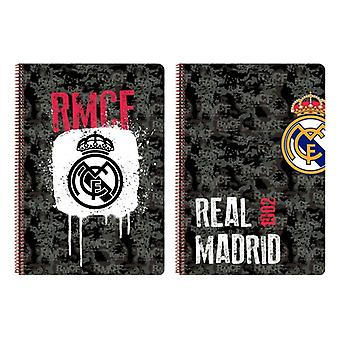 Book of Rings Real Madrid C.F. Black A4