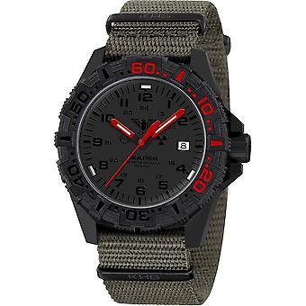 KHS - שעון יד - גברים - מלאך המוות MKII LT אדום - KHS. 2LTREDF. NSGO (לא כולל)