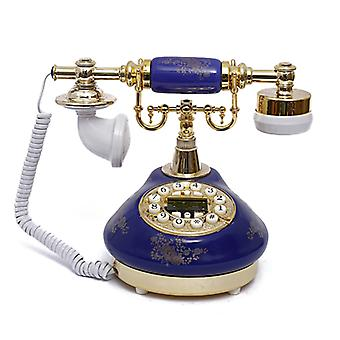 Antique Style Rotary Phone Princess French Style Old Fashioned Handset Telephone Tc-511red Or Tc512-blue