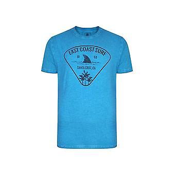 KAM Jeanswear East Coast Acid Wash T-Shirt