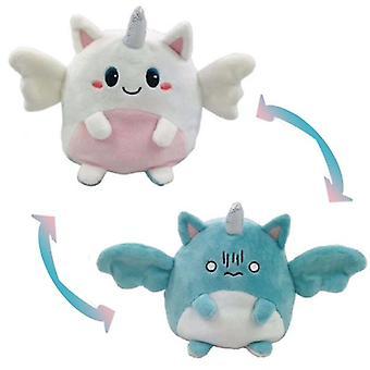 Doppelseitige Reversible Einhorn Plüsch Spielzeug, reversible Einhorn