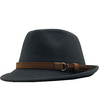 New Wool Women Men Fedora Hat For Winter Autumn