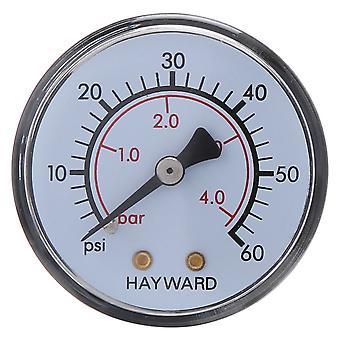 Manómetro de presión de ECX2709A1 de Hayward para filtro XStream