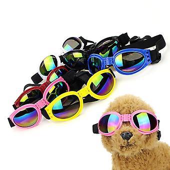 Pet glasses foldable sunglasses sun-resistant sunglasses