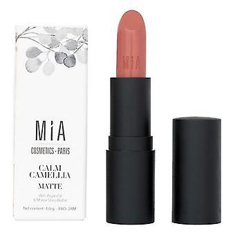 Läppstift Mia Cosmetics Paris Matt 501-Lugn Camellia (4 g)