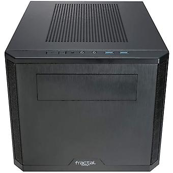 Fraktálne konštrukčné jadro 500 (čierne) kompaktné kockové puzdro, Mini ITX, ATX PSU a podpora GPU 310mm, 280mm návodnéhovaru, magnetické filtre
