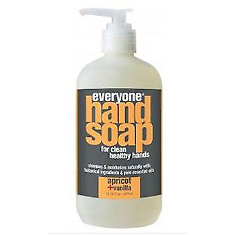 EO Products Everyone Hand Soap, Apricot 12.75 oz