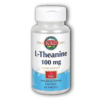 Kal L-Theanine, 100 mg, 30 Tabs