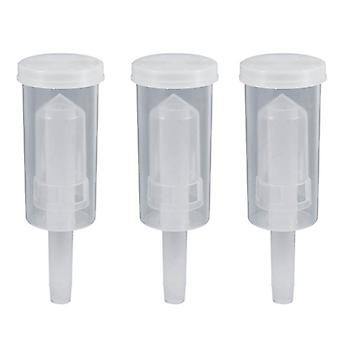 Homebrew Beer Cylinder Fermentor Air Lock, One Way Udstødningsvand forseglet Check