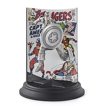 Marvel By Royal Selangor 0179020 Limited Edition Captain America The Avengers -hahmo
